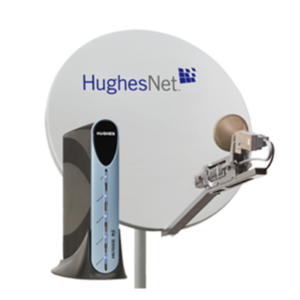 HugheNet Classic Satellite Dish and Modem