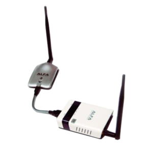R36 WiFi USB Repeater with AWUS036NH Desktop Antenna
