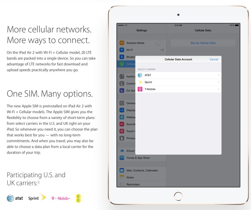 Apple SIM Details