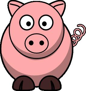 image of cartoon pig