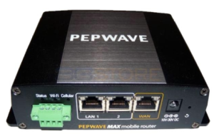 The Pepwave MAX BR1 - A solid block of mobile networking power.