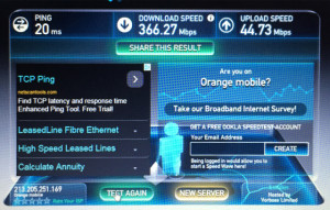 Ars Technica last year was invited to demo the first 400Mbps LTE trial. 5G speeds will blow this out of the water.
