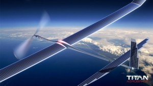 Google's Titan drone is reportedly being used for 5G experimentation in the air high over New Mexico.
