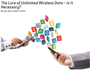 Verizon really doesn't like unlimited data. No wonder people are willing to jump through so many hoops to get it...