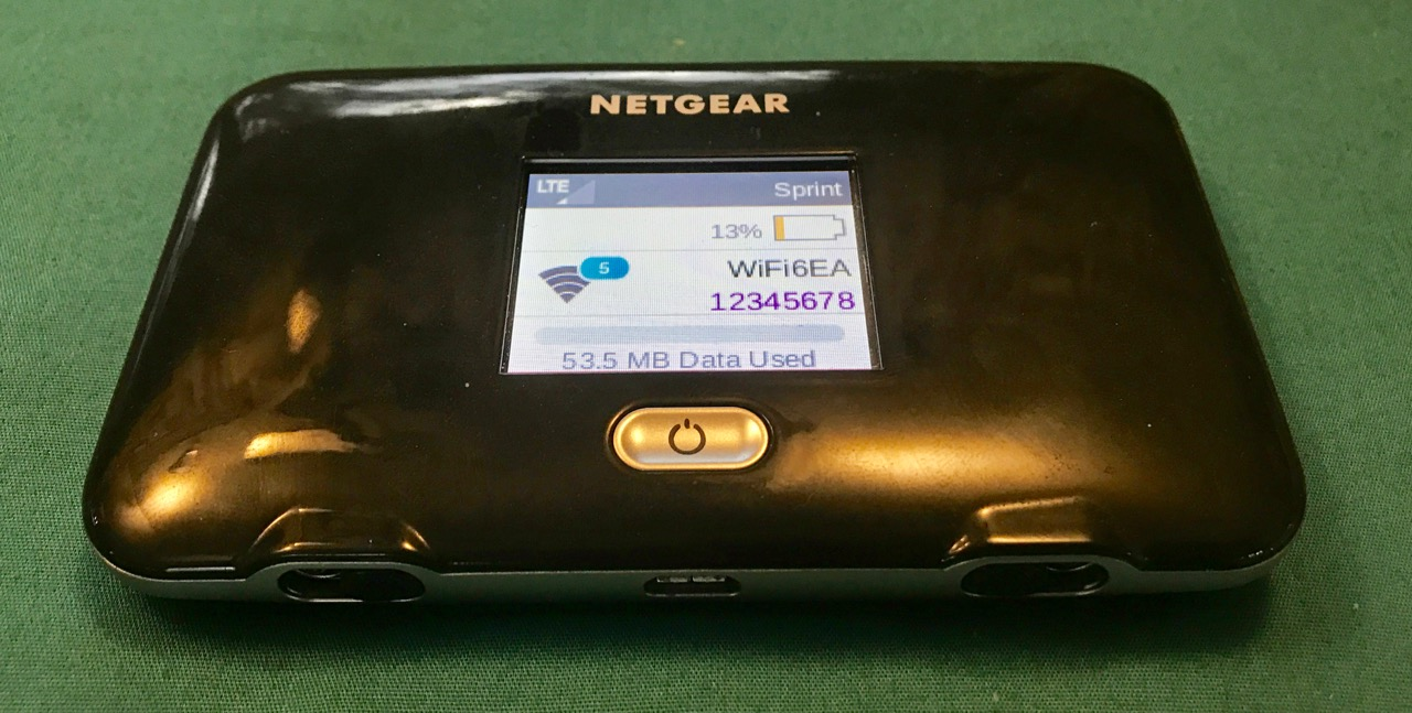 Overview: Sprint Fuse AC779S by Netgear (Mobile WiFi Hotspot