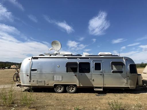 RVDataSat 840 Installed on an Aistream
