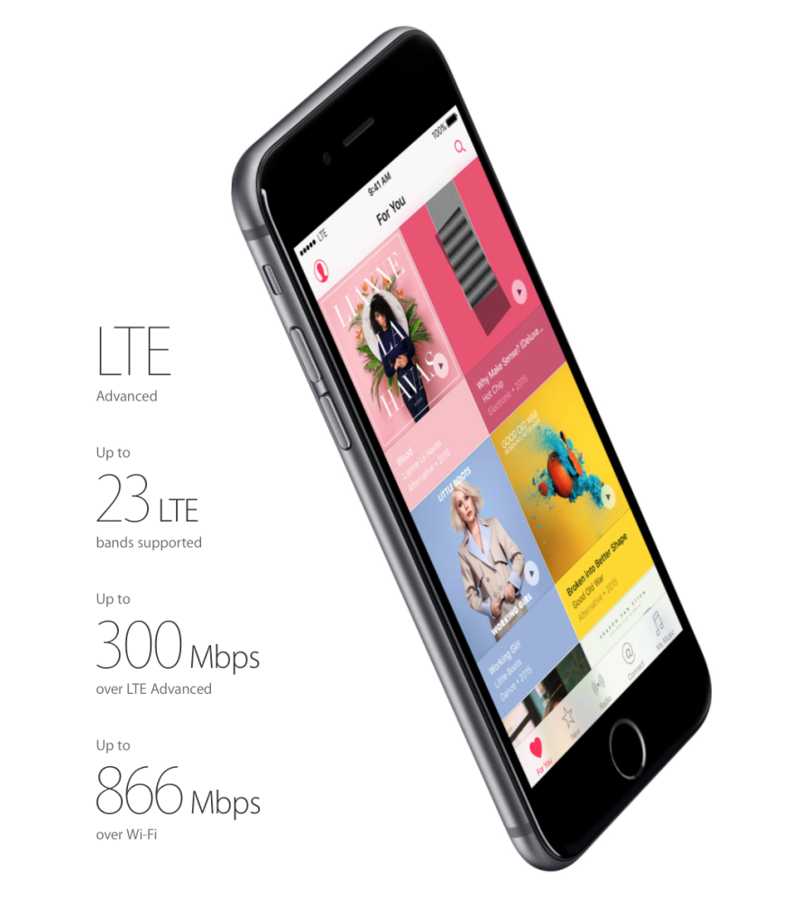 The new iPhone 6s raises the bar for LTE capabilities in several exciting ways.