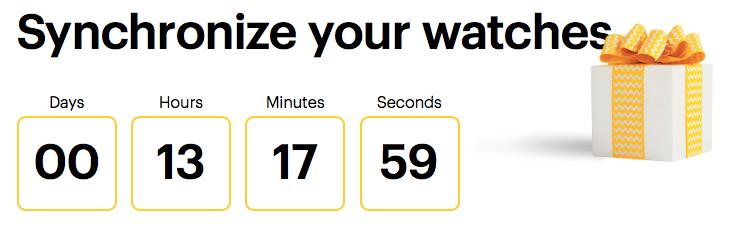 Sprint-Countdown