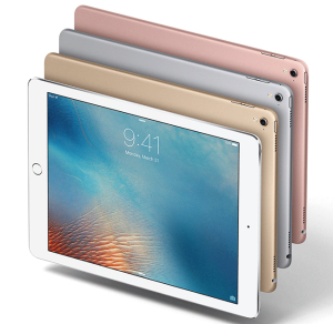 four ipad tablets