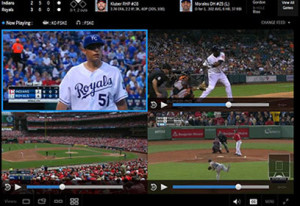 MLB.TV will let you watch up to four games at once on a PC or Mac. Crazy!