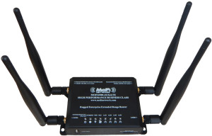 The cellular-integrated MoFi 4500 models feature two Wi-Fi and two cellular antennas. These are standard jacks, and you can directly wire a roof mounted antenna on your RV instead.