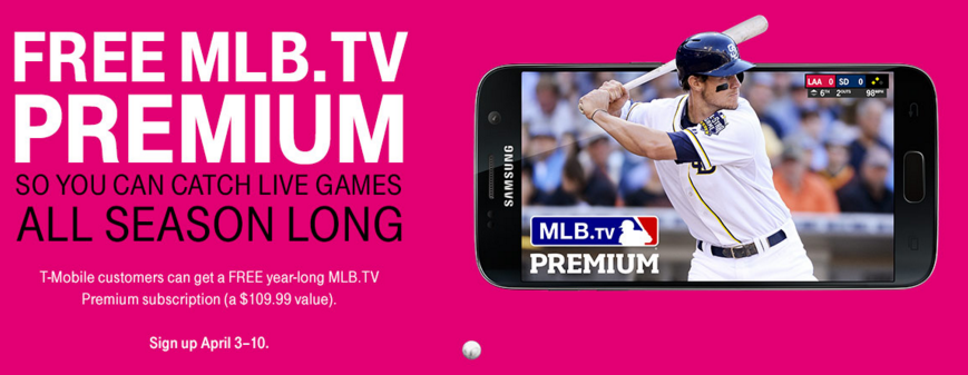 Baseball Fans: T-Mobile Offering Free Year of MLB TV Premium - This