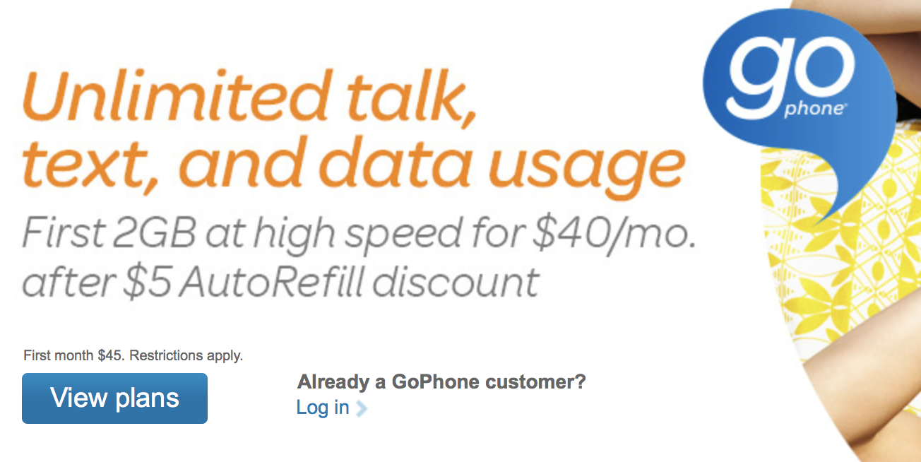 AT&T Prepaid goPhone Plans Get Extra Data - Mobile Internet