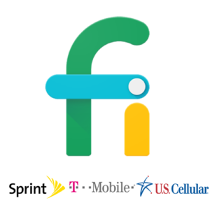 Project Fi phones in the USA have access to the combined coverage maps of T-Mobile, Sprint, and US Cellular.
