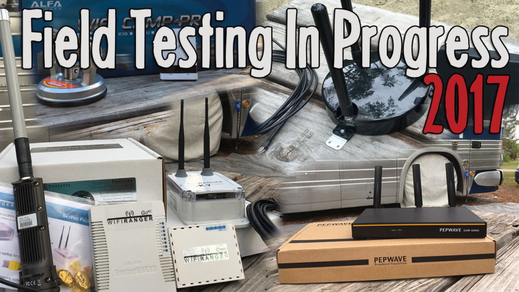 router-field-testing