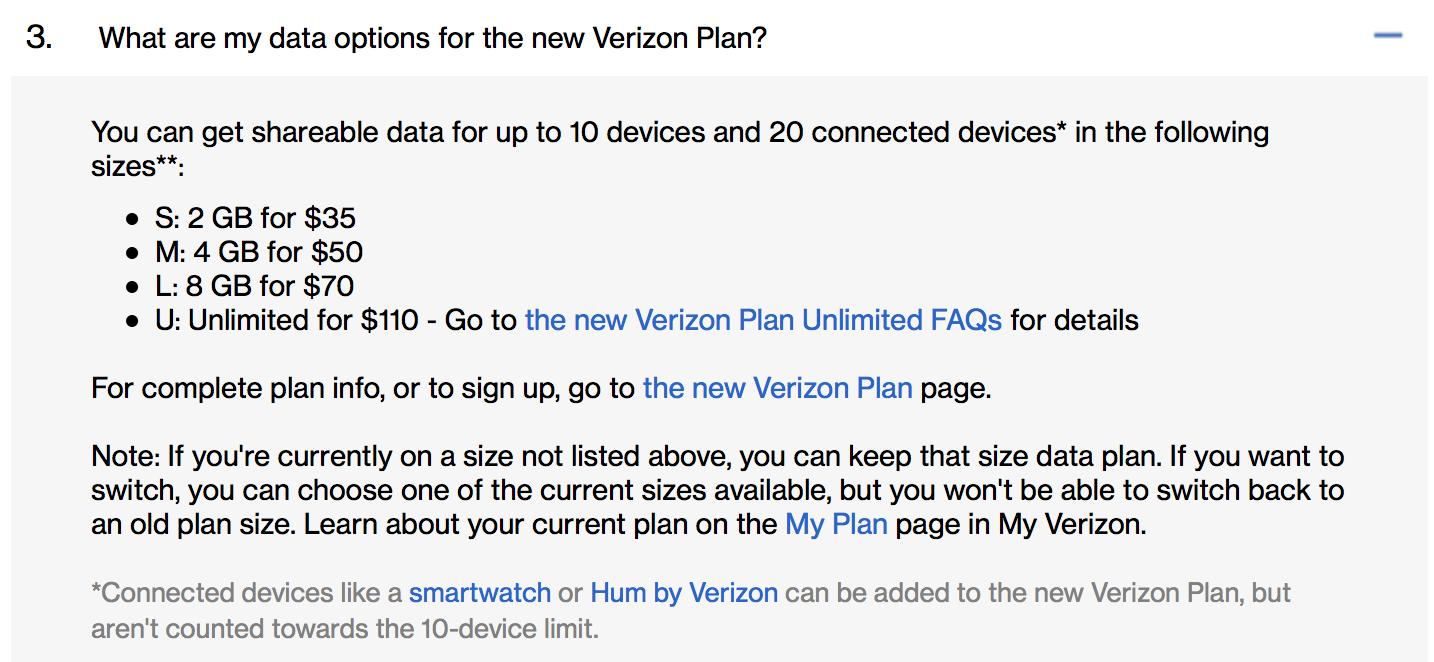 Verizon Quietly Retires