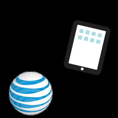att unlimited tablet plan gear center graphic
