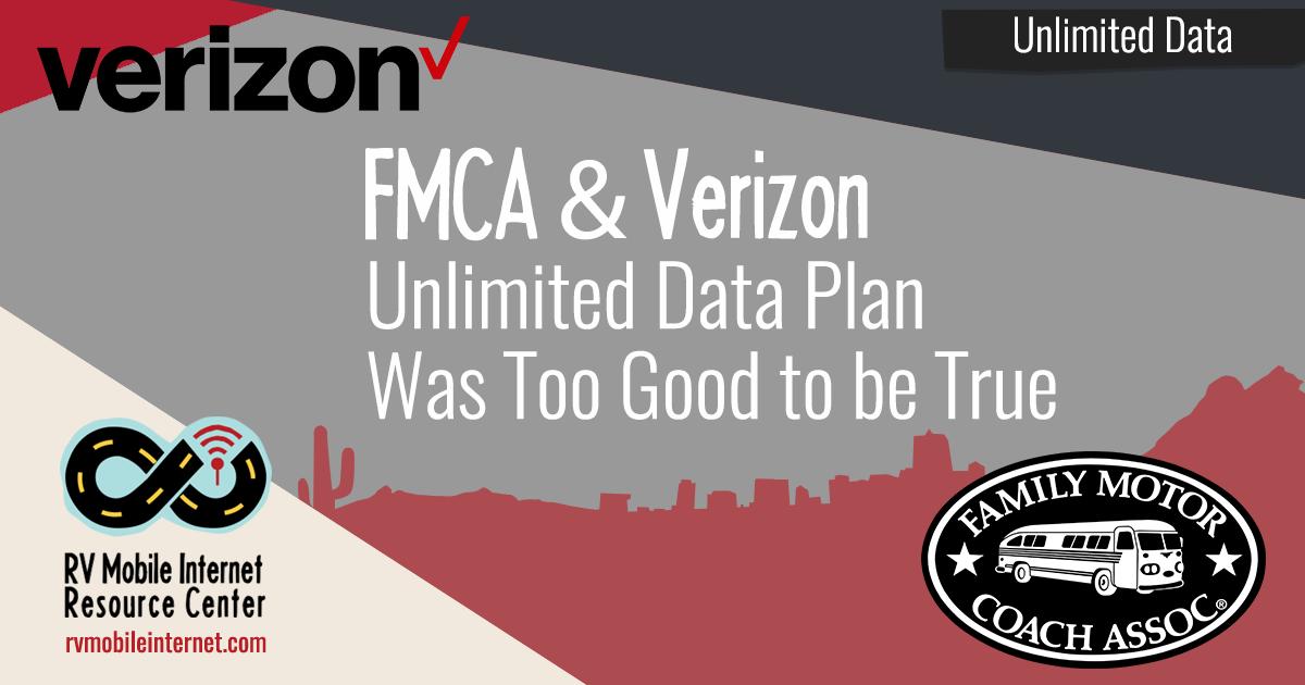 Verizon Pulls The Plug: FMCA's Insanely Good Verizon