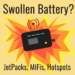 Swollen Hotspot Battery Guide