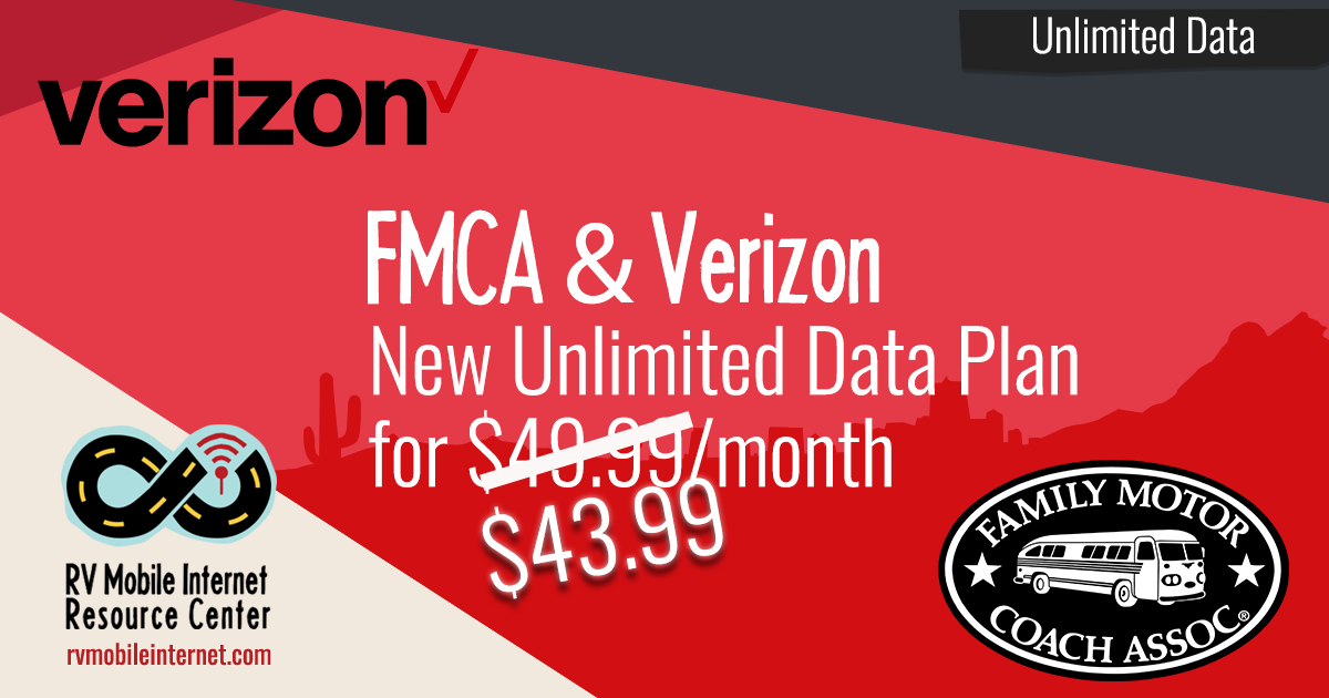 FMCA Rolls Out Unlimited Verizon Hotspot Plan - Mobile Internet