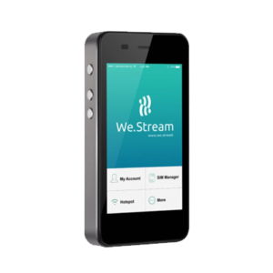 We.Stream hotspot