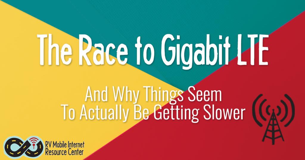 race to gigabit lte