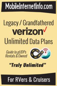 Verizon Grandfathered Unlimited Plan