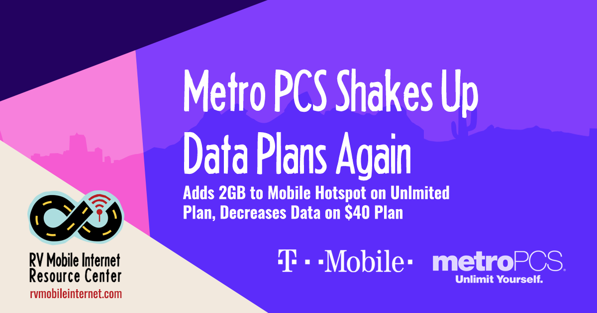 Metro PCS Adds 2GB of Hotspot Data, Increases Family Line