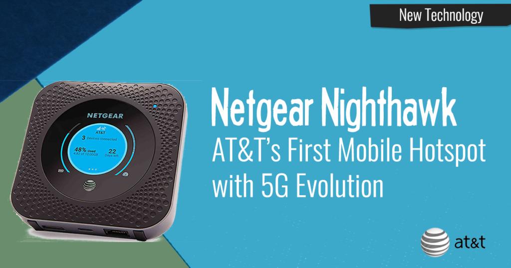 netgear nighthawk mobile hotspot at&t 5g