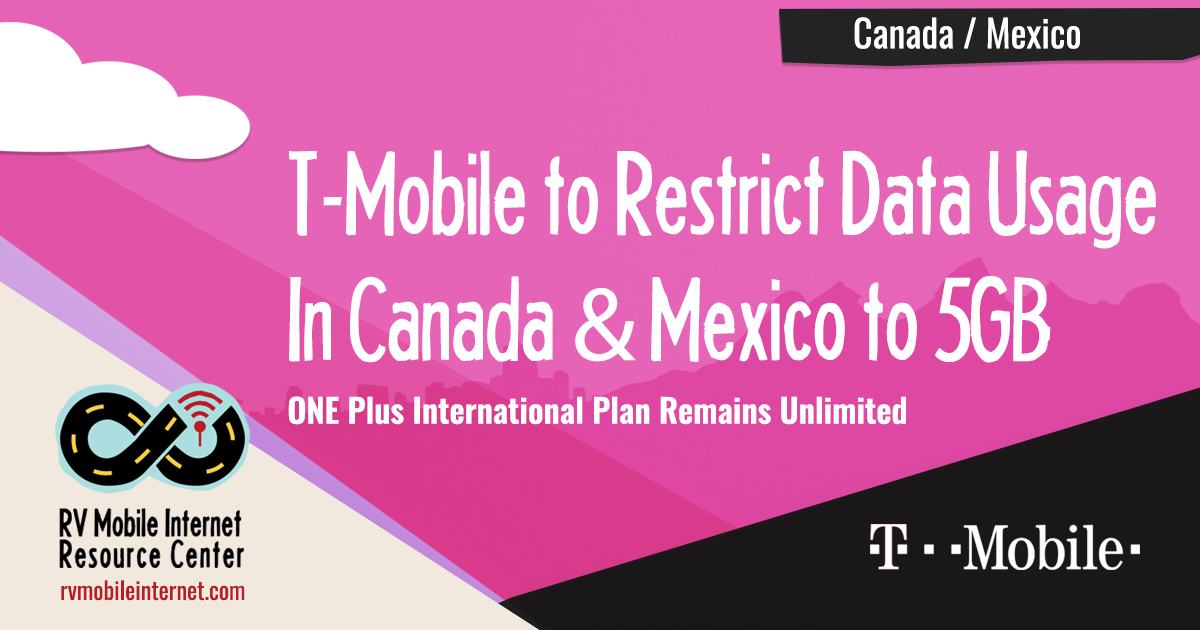 T mobile not working in canada