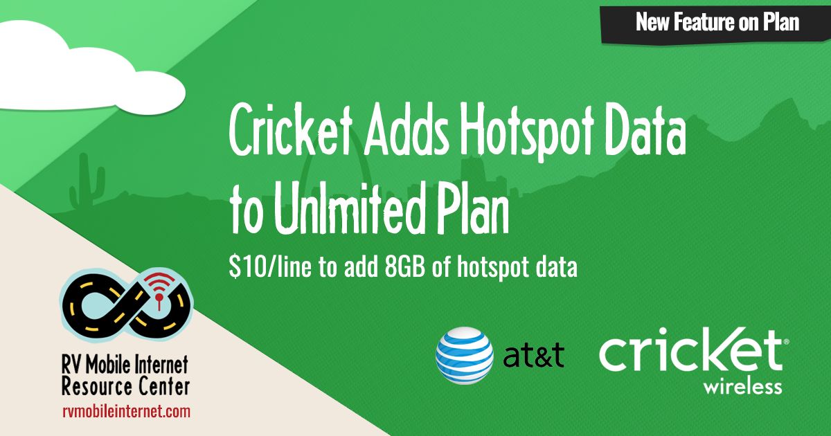 Cricket Adds Hotspot Function To Unlimited Plans Mobile
