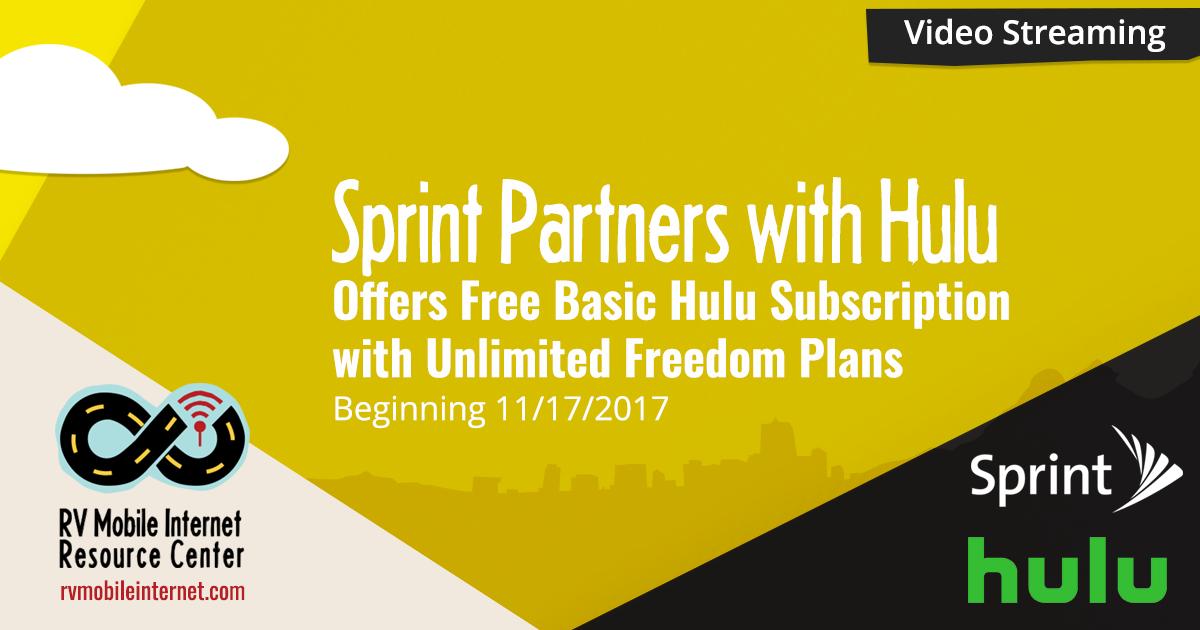 sprint hulu free