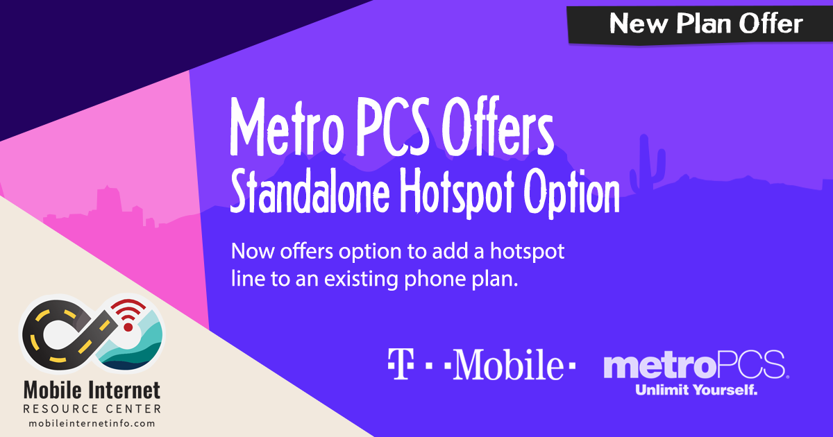 MetroPCS Now Offers Dedicated Data Hotspot Plans - Mobile Internet