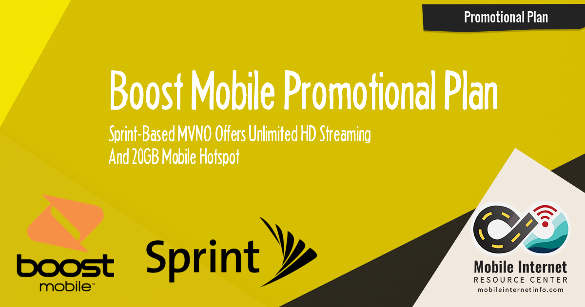 New Data Deal: Sprint-Based Boost Mobile Offers HD Streaming