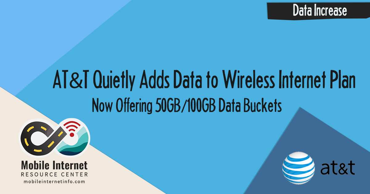 At T Quietly Adds Data To Wireless Internet Plans Mobile Internet Resource Center
