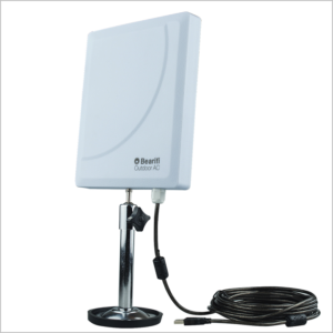 Bearifi Outdoor Dual Band 2.4/5 GHz WiFi Extender with cable and mount