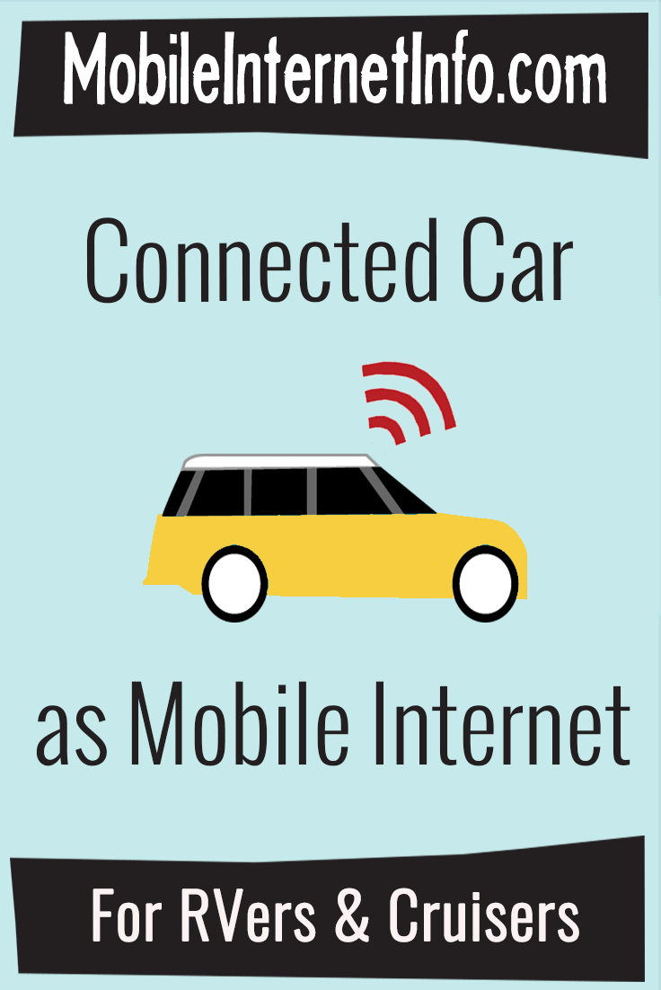 Connected Cars, RVs & Boats - Integrated Mobile Internet