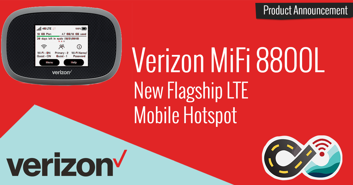 Verizon Launches New Flagship Mobile Hotspot Device - The