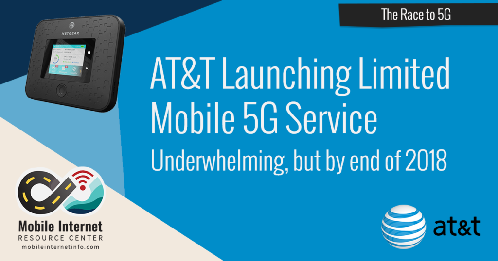 att launched mobile 5g