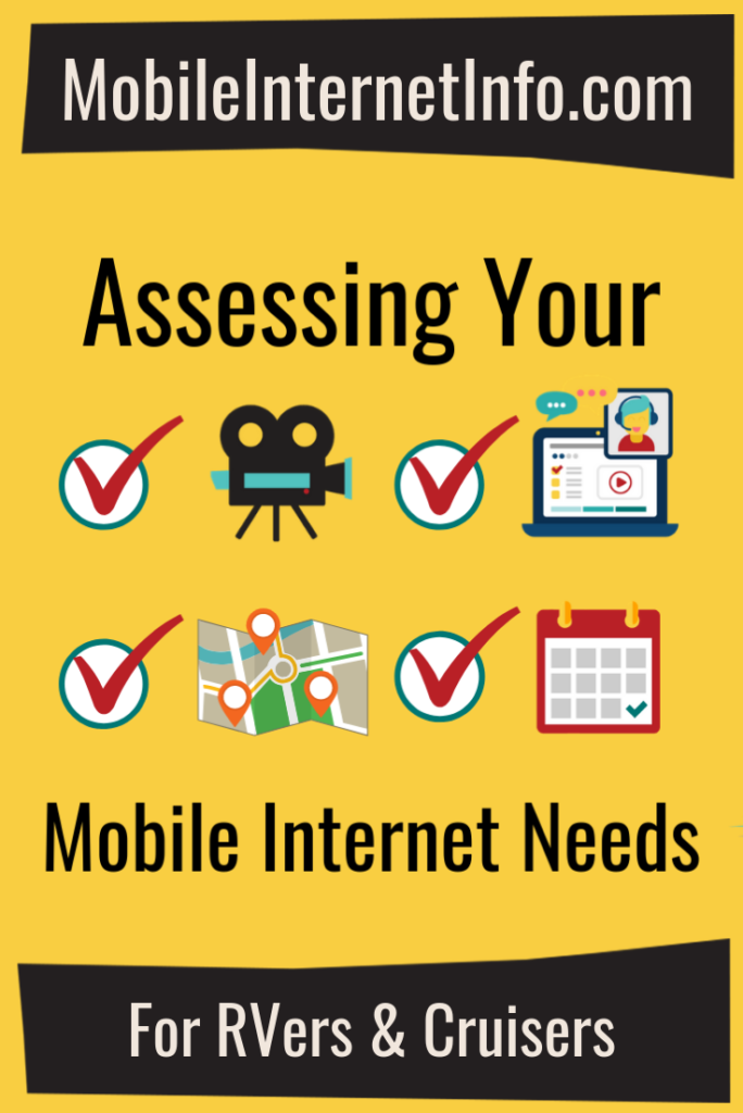 Assessing You Mobile Internet Needs Guide Icon