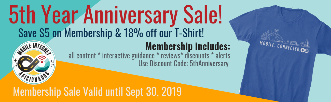 5th anniversary mia membership sale