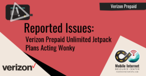 Verizon Prepaid Acting Wonky Header Image
