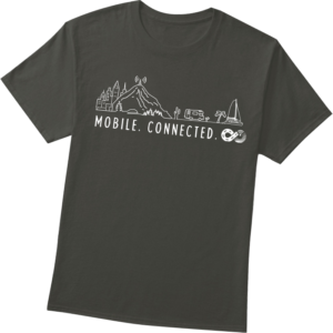 Mobile and Connected T Shirt
