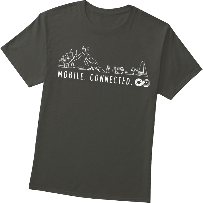 Mobile Connected T-Shirt Photo