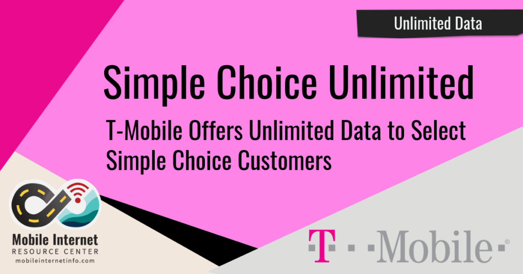 T-Mobile Offers Unlimited Data to Select Simple Choice Customers Header Image