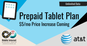 att-unlimited-prepaid-tablet-plan-price-increase