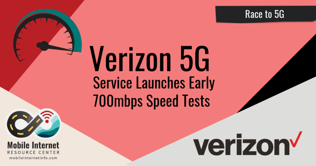 verizon 5g launched early