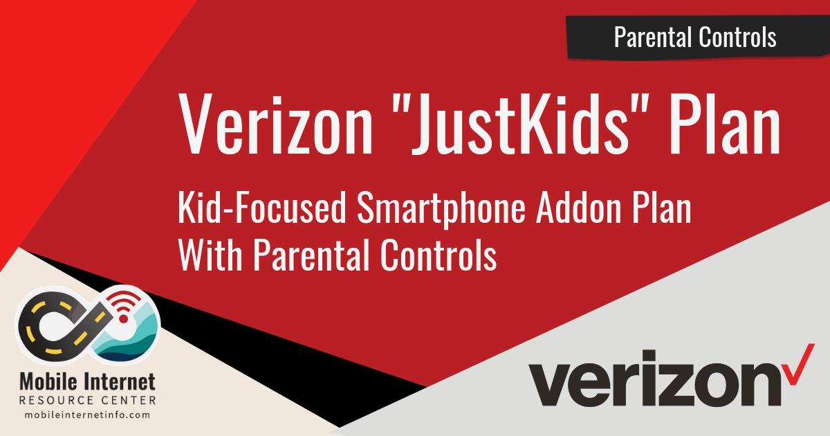 Verizon JustKids Plan News Article Header