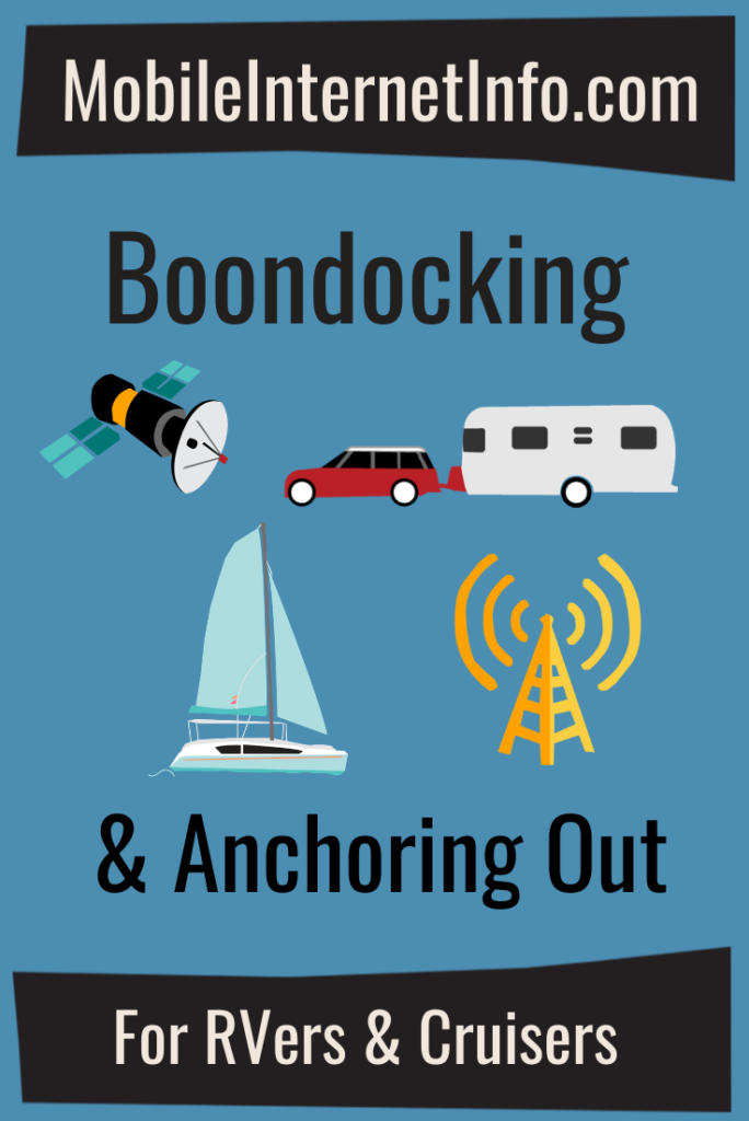 Boondocking & Anchoring Out Guide Featured Image