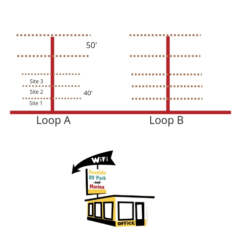 Wi-Fi distance illustration